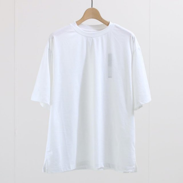 【8月1日再値下げ】【35%OFF】【2020 S/S】【EASY TO WEAR イージートゥウェアー】ORGANIC COTTON 30s WHITE