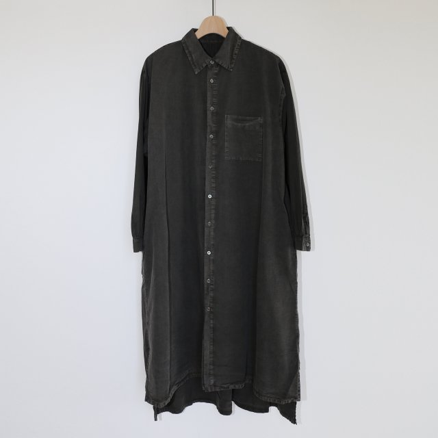 【2020A/W】【COSMIC WONDER コズミック ワンダー】BEAUTIFUL ORGANIC COTTON SHIRT DRESS SUMI
