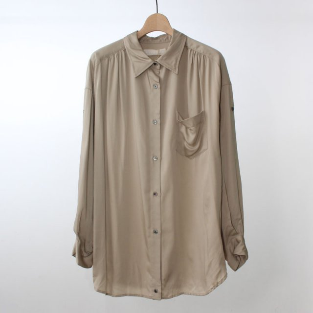 【2020A/W】【R JUBILEE アール ジュビリー】2Way shirts (Vintage) BEIGE