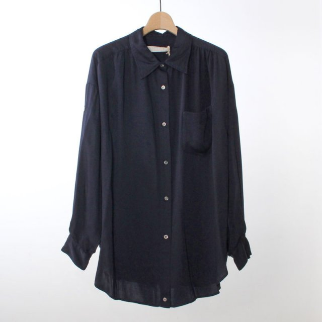 【2020A/W】【R JUBILEE アール ジュビリー】2Way shirts (Vintage) NAVY