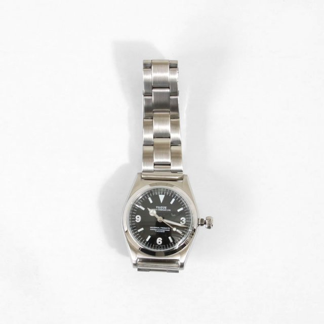 【2020A/W】【UNIVERSAL PRODUCTS ユニバーサルプロダクツ】BB EX-1 -STAINLESS- (VAGUE WATCH)