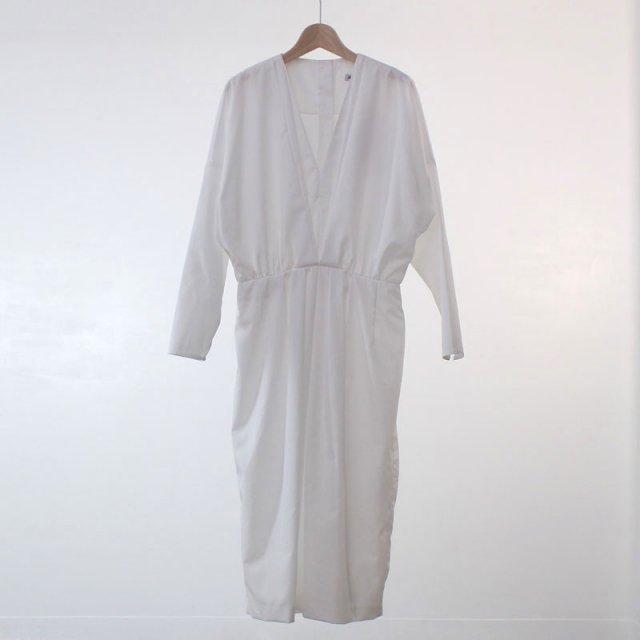 【2020 A/W】【SEEALL シーオールレディース】LAYERED DRESS WHITE