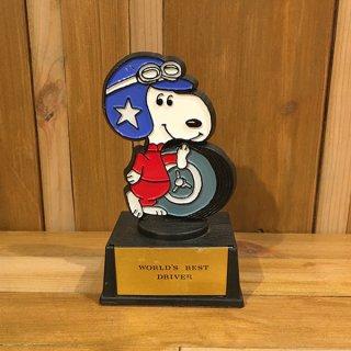 """スヌーピー  トロフィー """"WORLD'S BEST DRIVER"""""""