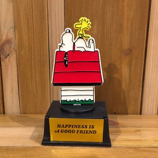 "スヌーピー  トロフィー ""HAPPINES IS A GOOD FRIEND"""