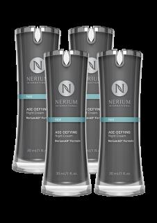ネリウム エイジディファイング ナイトクリーム4個セット Nerium Age-Defying Night Cream NeriumAD Formula 4pack