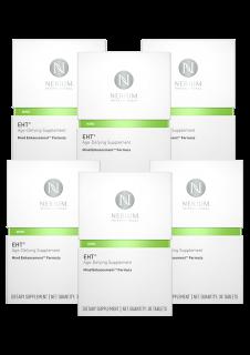 ネリウムEHT サプリメント30錠 / 1ヶ月分 6個セット Nerium EHT Mind Enhancement Formula 6Pack