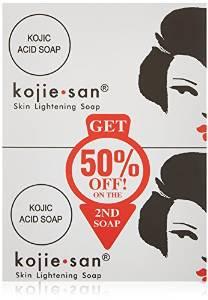 コジエさん スキンライトニング美白ソープ石鹸 Kojie San Skin Lightening Soap(2 Pack)