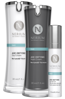 ネリウム エイジディファイングADデイクリーム&ナイトクリーム アイセラム3点セット Night Cream, Day Cream & Eye Serum (1 of Each)