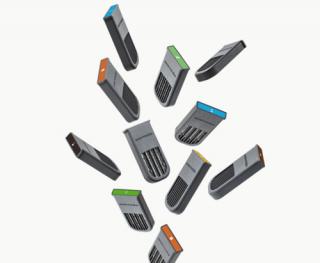 Sensorwake Scent capsules  センサーウェイク 香りの目覚まし時計詰め替え用 7種 香りのカプセル
