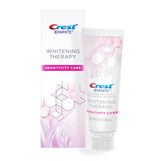 CREST 3D WHITE WHITENING THERAPY SENSITIVITY CARE  TOOTHPASTE クレスト 3D ホワイト ホワイトニングセラピー知覚過敏用歯磨き粉