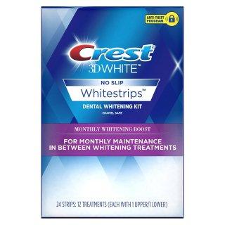 クレスト3Dホワイトマンスリーホワイトニングブースホワイトストリップ - 歯を白くするキット CREST 3D WHITE MONTHLY WHITENING BOOST WHITESTRIPS
