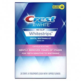 クレスト3D ホワイトストリップス 知覚過敏用 ホワイトニングシート Crest 3D Whitestrips Gentle Routine - Teeth Whitening Kit