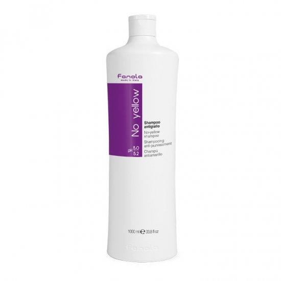 Fanola No Yellow Shampoo 1ℓファラノ ファノア ファノーラ ノーイエローシャンプー ムラシャン 紫シャンプー1リット…
