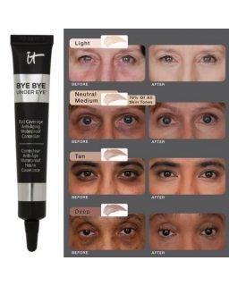 IT COSMETICS Bye Bye Under Eye Anti-Aging Concealer+ イットコスメティックス バイバイアンダーアイ アンチエイジングコンシーラー