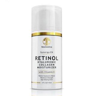 NeuCeutica SYNERGY EX Retinol, Hyaluronic Acid, Vitamin C & Collagen Moisturizer Cream レチノール クリーム
