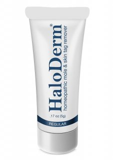 HaloDerm Removes 3 Moles or Skin Tags いぼ ホクロ シミ取りクリーム