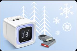 ensorwake 2 Winter gift box ウィンターギフトパック センサーウェイク2 香りの目覚まし時計