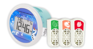 Sensorwake Frozen Kids Alarm Clock Pack センサーウェイク フローズンキッズオラフ香りの目覚まし時計