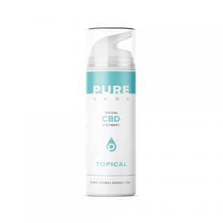 ピュアカナ トピカル CBD オイントメント 100ml(CBD 600mg含有) Pure Kana Topical CBD Ointment (600mg CBD) 3.4oz