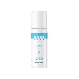 ピュアカナ CBD マッスル メンソール(メントール) ロールオン 88ml(CBD 600mg含有) Pure Kana CBD Muscle Menthol Roll-On Gel 3oz