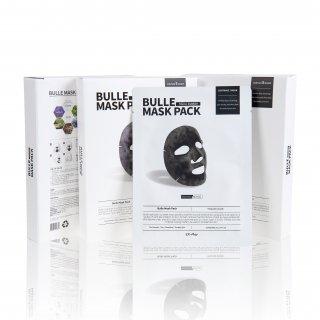 【正規品】シバサン EXプレイ ビューレ マスクパック 5枚入り(炭酸パック/マイクロバブル) Civasan EX-Play Bulle Mask Pack 5 sheets