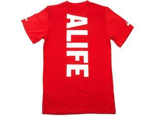 ALIFE / ASICS MARATHON COLLECTION STANDARD LOGO DRY FIT T SHIRT<BR>エーライフ アシックス マラソン