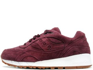 SAUCONY SHADOW 6000 BURGUNDY SUEDE PACKER EXCLUSIVE<BR>サッカニー シャドウ6000 バーガンディー