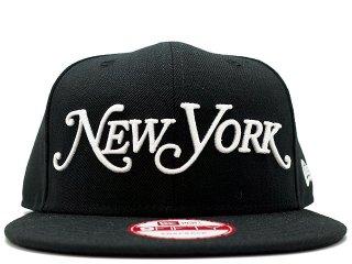 NEW ERA x NEW YORK MAGAZINE 9FIFTY SNAP BACK BLACK<BR>ニューエラ ニューヨークマガジン
