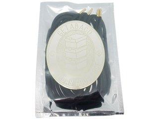 【メール便対応】GETABACO x BEAUTY & YOUTH METAL TIP ROPE LACES BLACK/GOLD<BR>ゲタバコ メタルチップロープレース 日本製