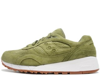 SAUCONY SHADOW 6000 OLIVE SUEDE PACKER EXCLUSIVE<BR>サッカニー シャドウ6000 オリーブスエード パッカーエクスクルーシブ