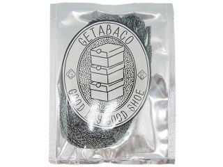 【メール便対応】GETABACO MIX FLAT LACES MONO MIX<BR>ゲタバコ ミックスフラットレース モノミックス 日本製