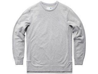 ASICS x REIGNING CHAMP CREWNECK HEATHER GREY