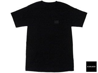 VANADI PATCHED LOGO POCKET TEE BLACK<BR>ヴァナディ パッチド ロゴ ポケット ティー ブラック