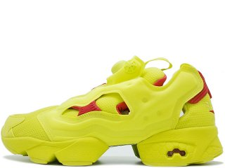 REEBOK INSTAPUMP FURY OG DIVISION PACK PACKER EXCLUSIVE HYPERGREEN/RED<BR>リーボック インスタポンプフューリー