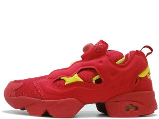 REEBOK INSTAPUMP FURY OG DIVISION PACK PACKER EXCLUSIVE RED/HYPERGREEN<BR>リーボック インスタポンプフューリー