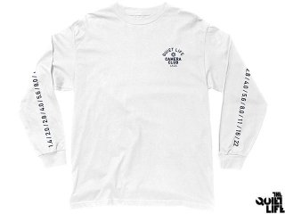【2016 FALL COLLECTION】THE QUIET LIFE WONT STOP LONG SLEEVE T WHITE<BR>クワイエットライフ ウォントストップ ロングスリーブティー