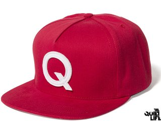 【2016 FALL COLLECTION】THE QUIET LIFE Q SNAPBACK RED<BR>クワイエットライフ スナップバック レッド