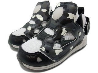 【子供靴・ベビー用品】REEBOK X A BATHING APE x MITA SNEAKERS VERSA PUMP FURY CITY CAMO