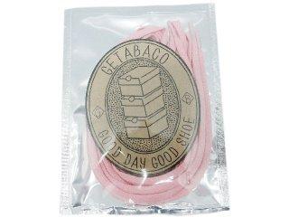 【メール便対応】GETABACO COTTON LACES PINK<BR>ゲタバコ コットンレース ピンク 日本製