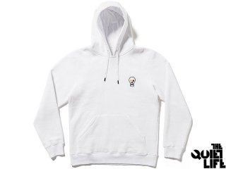 【2016 HOLIDAY COLLECTION】THE QUIET LIFE BAUHAUS SKULL PULLOVER HOOD WHITE<BR>クワイエットライフ バウハウススカル