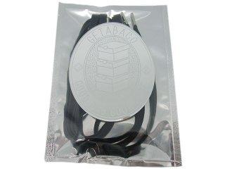 【メール便対応】GETABACO x BEAUTY & YOUTH METAL TIP FLAT LACES BLACK/SILVER<BR>ゲタバコ メタルチップフラットレース 日本製