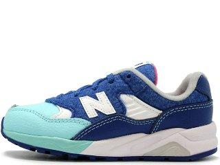 【子供靴・ベビー用品】NEW BALANCE KL580FYI BLUE<BR>ニューバランス ブルー