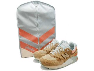 【SPECIAL BOX】NEW BALANCE x PACKER SHOES ML999CML CAMEL/SLATE/CORAL<BR>ニューバランス パッカーシューズ