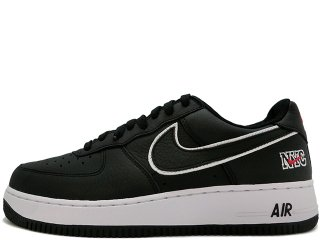 NIKE AIR FORCE 1 LOW RETRO NYC BLACK/WHITE/UNIVERSITY RED<BR>ナイキ エアフォース ワン レトロ ニューヨーク