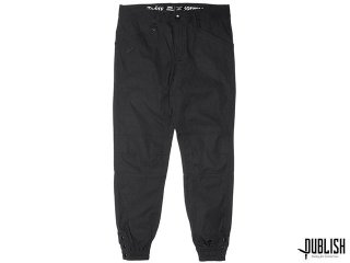 【2017 SPRING COLLECTION】PUBLISH BRAND MAVERICK JOGGER FIT PANTS BLACK
