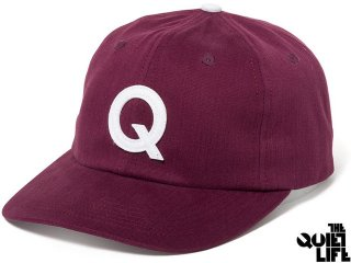【2017 SPRING COLLECTION】THE QUIET LIFE LEAGUE POLO HAT MAROON<BR>クワイエットライフ リーグポロハット マルーン