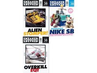 【メール便対応】SNEAKER FREAKER ISSUE 38<BR>スニーカー フリーカー 38号