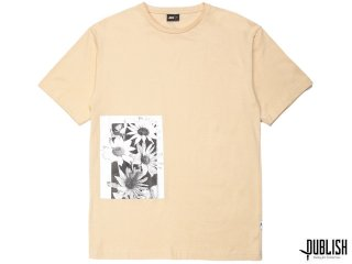 【2017 SUMMER COLLECTION】PUBLISH BRAND DAISY PAGE S/S TEE  TAN