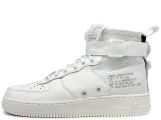 NIKE SF AF1 SPECIAL FIELD AIR FORCE 1 MID TRIPLE IVORY<BR>ナイキ スペシャル フィールド エアフォース1 ミッド