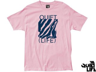 【2017 SUMMER COLLECTION】THE QUIET LIFE SMEAR TEE PINK<BR>クワイエットライフ シミアー ティー ピンク